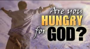 Image result for HUNGER FOR GOD