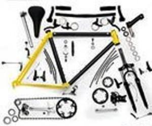 Bike parts need assembling